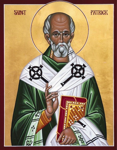 St. Patrick the Enlightener of Ireland icon