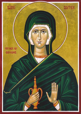 St. Sophia the Mother of orphans icon