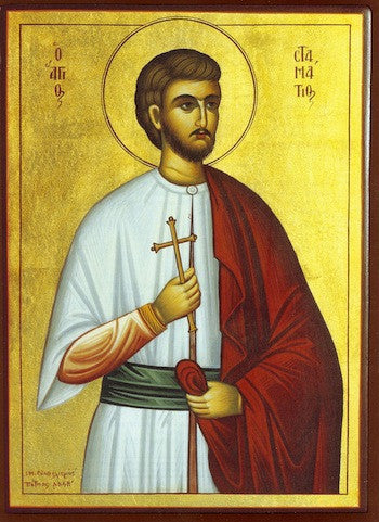 St. Stamatios the new Martyr of Chios icon