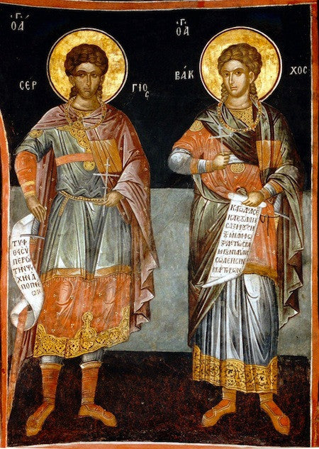 Ss. Sergius and Bacchus icon