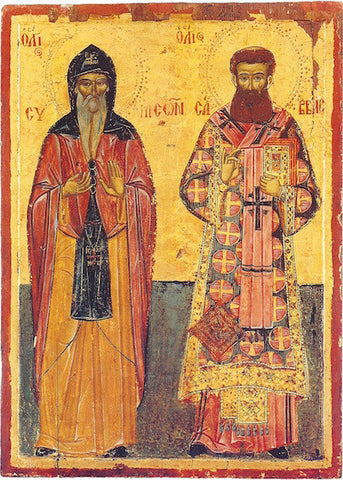 Ss. Savvas and Symeon icon
