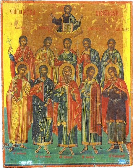 Ss. Ten of Crete icon