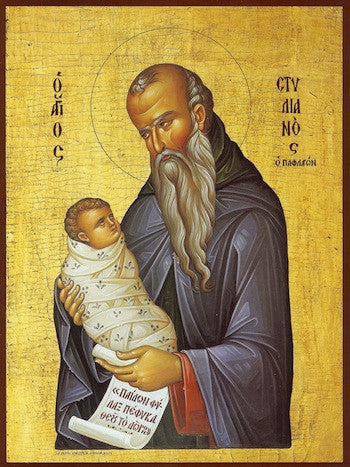 St. Stylianos of Paphlagonia icon