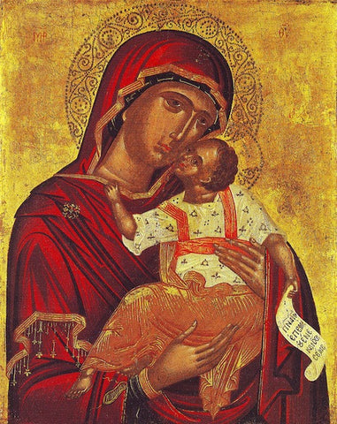 "Theotokos ""Tenderness"" icon(10)"