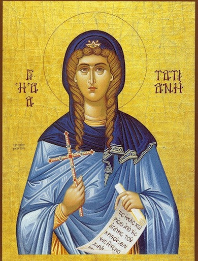 St. Tatiana of Rome icon