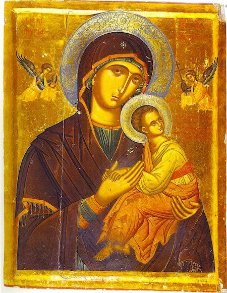 "Theotokos of ""The Passion"" icon (2)"