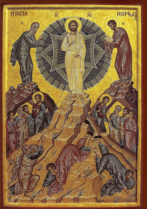 Transfiguration of Christ Our Lord icon (1)
