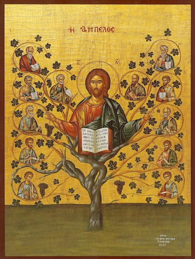 "Jesus Christ  ""The Vine"" icon (1)"