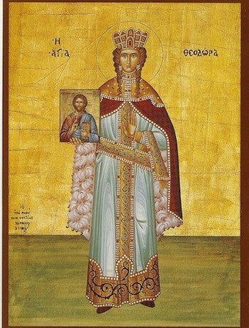 St. Theodora the Empress icon
