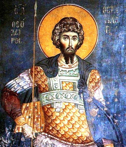 St. Theodore the General icon (2)