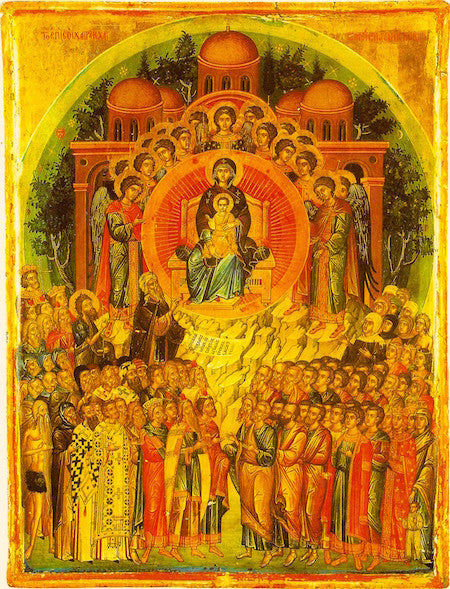 "Theotokos ""In Thee Rejoiceth"" icon (2)"