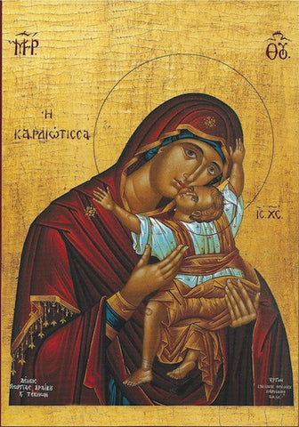 "Theotokos ""Tenderness"" icon(15)"