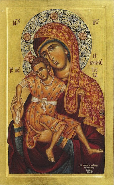 "Theotokos ""Tenderness"" icon(13)"