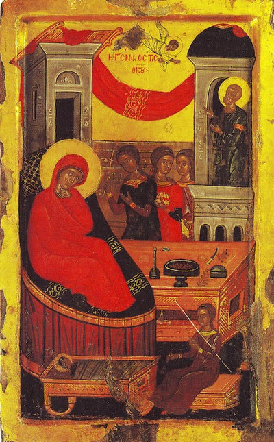 Nativity of Theotokos icon