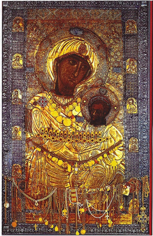 "Theotokos ""Portaitissa"" icon"