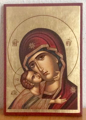"Theotokos ""Tenderness"" icon (SSC)"