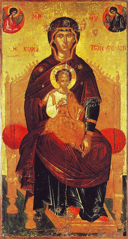 "Theotokos ""The Lady of the Angels"" icon (1)"