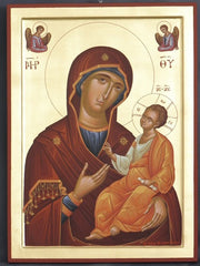 Jesus Christ and Most Holy Theotokos (p3)
