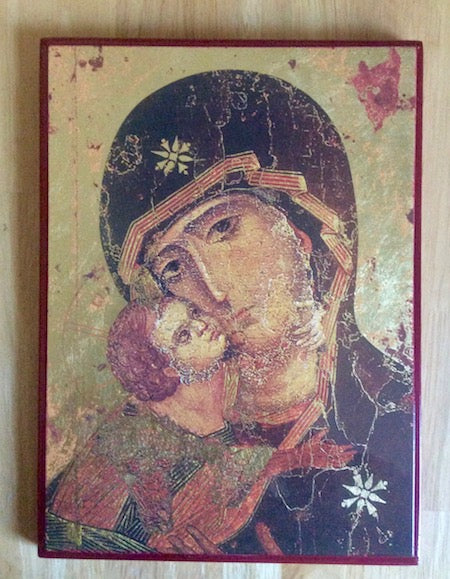 Theotokos of Vladimir icon (SSC)
