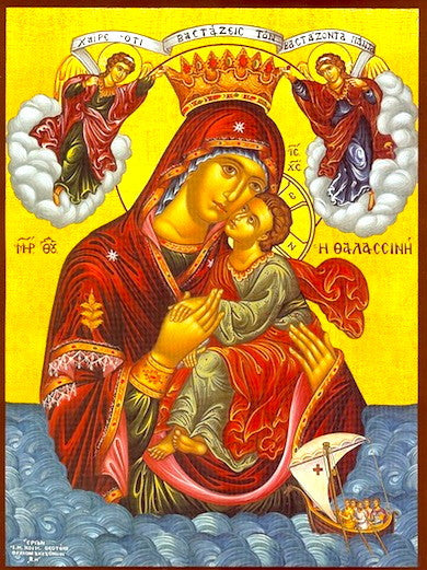 Theotokos Pelagiotissa (of the Sea) icon (2)