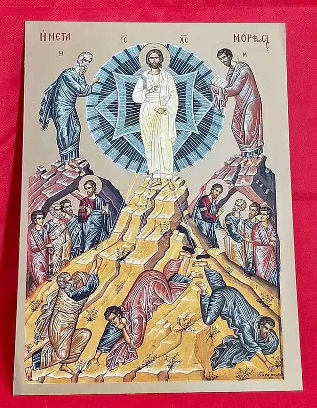 Transfiguration of our Lord icon (GF)