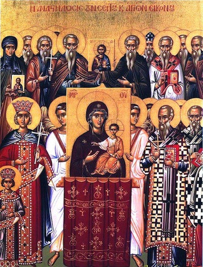 Triumph of Orthodoxy icon