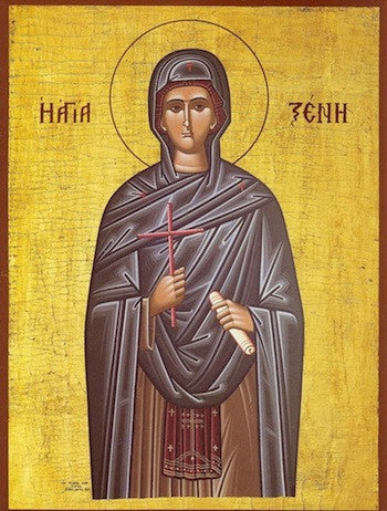 St. Xenia of Rome icon