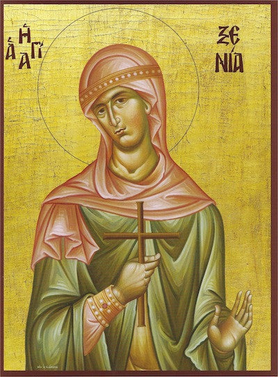St. Xenia the Great Martyr of Kalamata icon