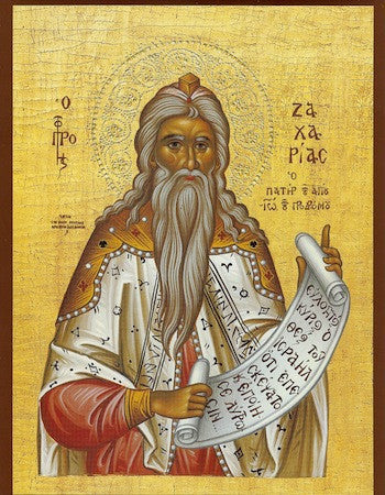Zachariah the Prophet icon