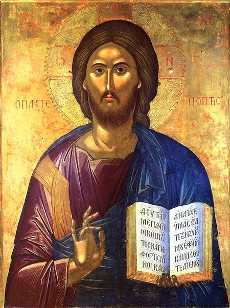 "Jesus Christ ""Pantepoptes"" icon"