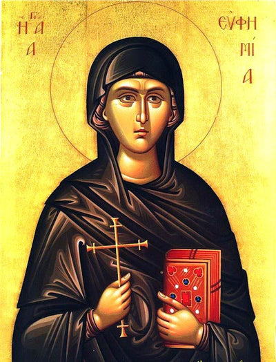St. Euphemia the Great Martyr icon (2)