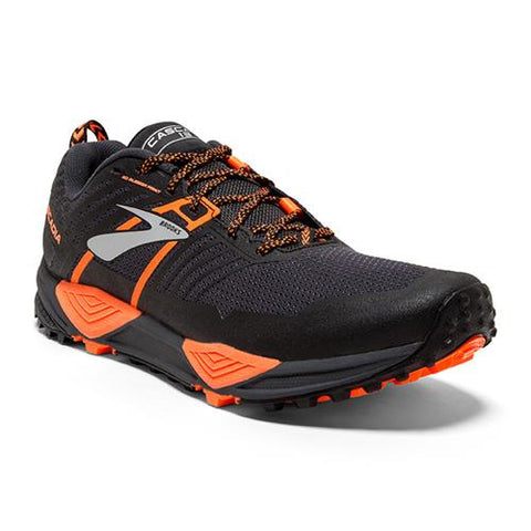 Men's Cascadia 13 Grey/Black/Orange