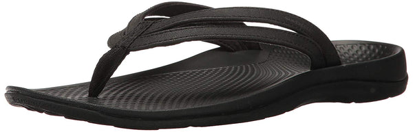 Superfeet Women's Rose Sandals, Black, 10 M US