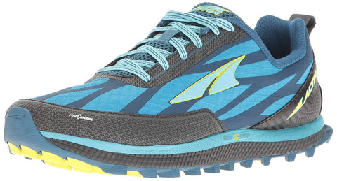 Altra Women's Superior 3 Running Shoe, Blue/Lime, 8.5 M US