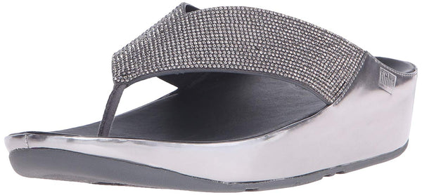 FitFlop Women's Crystall Flip Flop