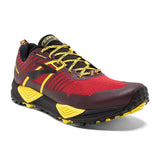 Men's Cascadia 13 Red/Yellow/Black