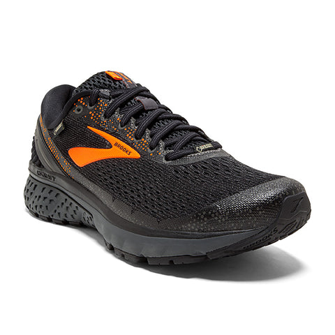 Men's Ghost 11 GTX Black/Orange/Ebony