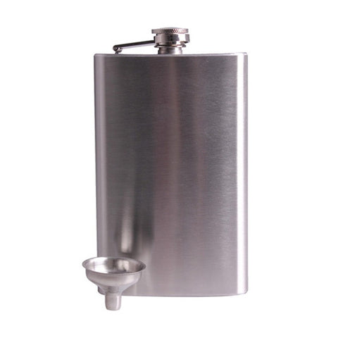 10 oz Stainless Steel Hip Flask