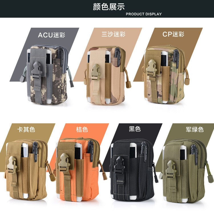 Outdoor Tactical Holster Hip Waist Belt Bag