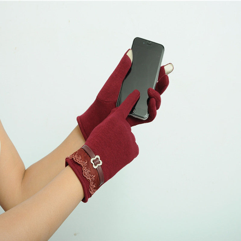 High Quality! Touch Screen <font><b>Gloves</b></font> Ladies Womens Winter Warm Mittens Use Device While Keeping Hands Cosyan Gifts For Girls