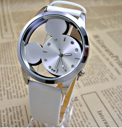 Famous Mouse Ears Silhouette UNISEX Watch