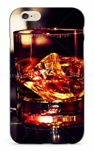 Ice Whiskey Glass iPhone Case