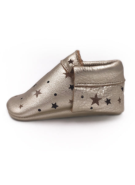 Baby SunBeam Gold Star Moccasins