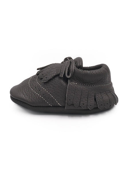 Baby SunFlower Grey Moccasins
