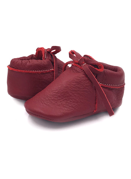 Copy of Baby SunBow Red Moccasins