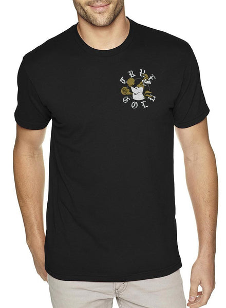 True Gold Boxer Pocket Mens T-Shirt