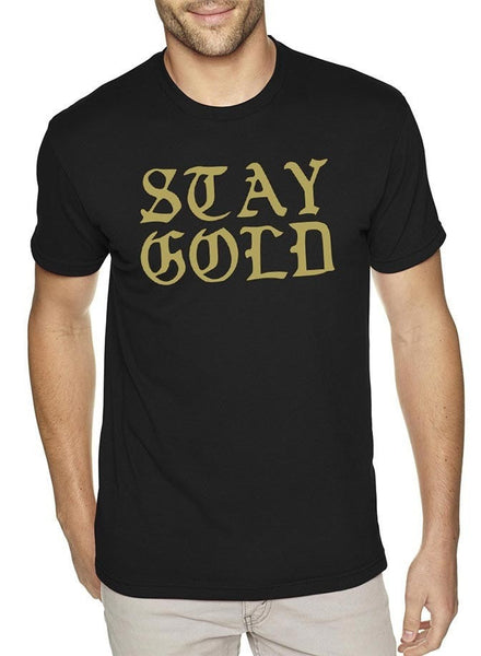 Stay Gold Mens T-Shirt