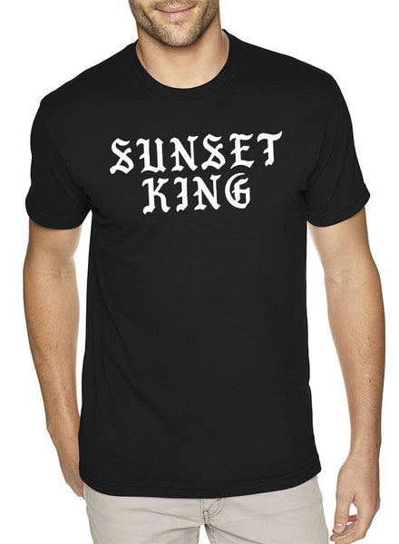 SUNSET KING Short-Sleeve Mens T-Shirt