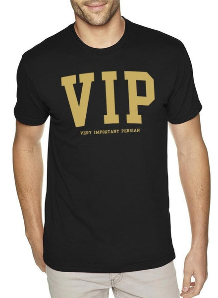 VIP Black Mens T-Shirt