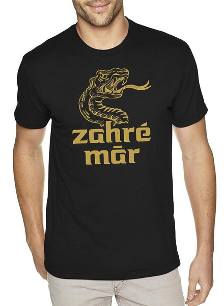 Zahre Mar Black Mens T-Shirt